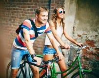 Jeździeccy bicykle Obraz Stock