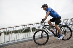 Jeździecki rower górski Obrazy Stock
