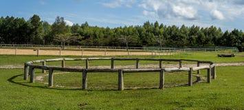 Jeździectwo arena Zdjęcie Stock