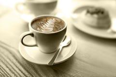 Je me sens comme le café, ai laissé le ` s prendre une pause-café image libre de droits
