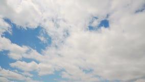 Je minute la boucle de Timelapse 05 de nuages banque de vidéos