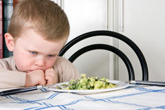 Je ne mangerai pas Photo libre de droits