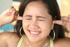 Je ne peux pas vous entendre Photo libre de droits
