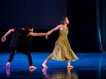 Je ne vous veux pas au l'aller-acte 5 : Nulle part pour placer la danse jeunesse-moderne Dreamlan images libres de droits