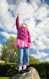 Je peux atteindre le ciel Image libre de droits