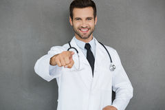 Je prendrai soin de votre santé ! Photographie stock