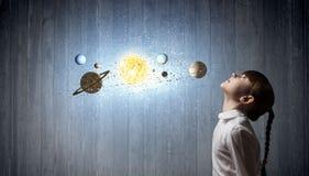 Je serai astronaute Photographie stock libre de droits