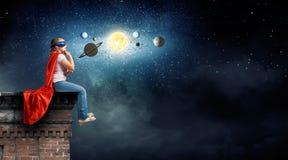 Je serai astronaute Images libres de droits