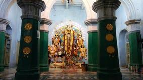 Je soumets un paysage de déesse indienne Image libre de droits