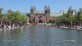 Je suis étang d'Amsterdam banque de vidéos