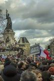 Je suis Charlie Parade Paris France Royalty Free Stock Photo