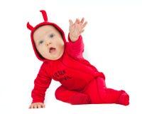 Je suis un petit diable ! Image libre de droits
