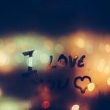Je t'aime Photo libre de droits