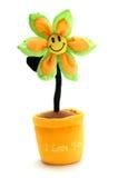 Je t'aime fleur Images libres de droits