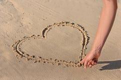 je t'aime retrait de coeur   Photos libres de droits