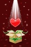 Je te donne mon coeur ! Image libre de droits