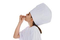 Je veux être un cuisinier photographie stock libre de droits