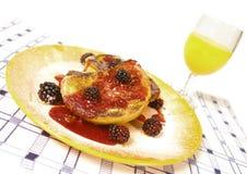 jeżynowa tosty Obraz Royalty Free