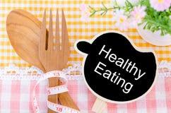 jeść zdrowo pojęcia Fotografia Royalty Free