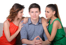 Jealousy Royalty Free Stock Photo