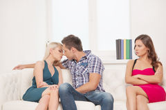 Jealousy. Stock Images