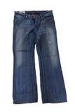 Jean azul Imagem de Stock Royalty Free