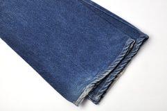 Jean azul Fotos de archivo libres de regalías