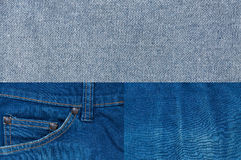 Jean background ,Blue denim jeans texture,Textured striped jeans denim linen fabric Stock Images