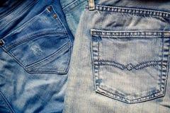 Jean Background, Mode-Design, altes Denim-klassisches Design stockfoto