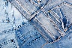 Jean Background Textura azul de la mezclilla del dril de algodón concepto para la moda Copie el espacio Capítulo fotos de archivo
