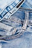 Jean Background Textura azul de la mezclilla del dril de algodón concepto para la moda Copie el espacio Capítulo fotografía de archivo