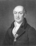 Jean Baptiste José Delambre Foto de archivo libre de regalías