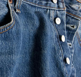 Jean buttons Royalty Free Stock Images