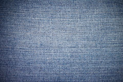 Jean cavas texture Royalty Free Stock Images