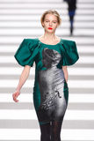 Jean-Charles de Castelbajac διάδρομος επιδείξεων μόδας στοκ εικόνα