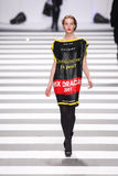Jean-Charles de Castelbajac Fashion Show Runway Royalty Free Stock Images