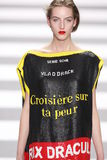 Jean-Charles de Castelbajac Paris Fashion Week Fotografia Stock Libera da Diritti