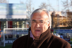 Jean-Claude Dassier of Olympique de Marseille Stock Image