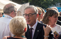 Jean-Claude Juncker Royalty Free Stock Images