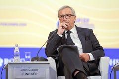 Jean-Claude Juncker. SAINT-PETERSBURG, RUSSIA - JUN 16, 2016: St. Petersburg International Economic Forum SPIEF-2016. President of the European Commission Jean Royalty Free Stock Photos