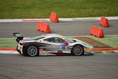 Jean-Claude Saada Ferrari 458 Challenge Evo at Monza Stock Photo