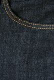Jean cloth Stock Image