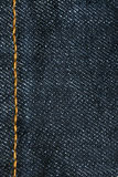 Jean cloth. Macro of a jeans texture Stock Photo