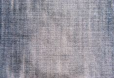 Jean cloth texture Stock Photography
