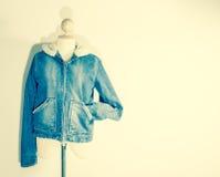 Jean coat Stock Photography