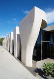 Jean Cocteau Museum, contemporary architecture in Menton Royalty Free Stock Images