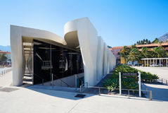 Jean Cocteau Museum, contemporary architecture in Menton Royalty Free Stock Photo