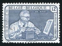 Jean de Bast Engraver Arkivbilder