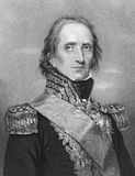 Jean-de-Dieu Soult. (1769-1851) on engraving from the 1800s. French general and statesman, named Marshal of the Empire in 1804. Engraved by W.H.Mote after a Stock Image