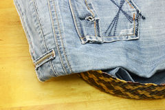 Jean and denim Royalty Free Stock Image